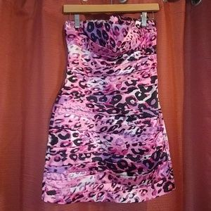 Strapless dress size small